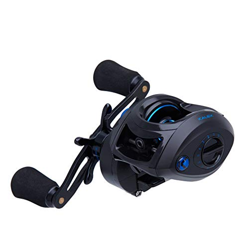 Kalex 1499524 XL4-L Low Profile LH Bait Casting Fishing Reel
