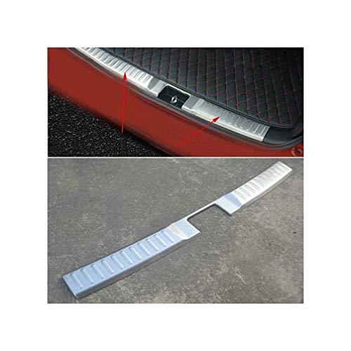 HTSM Protección Maletero para Suzuki Vitara 2015 2016 Protector Parachoques Protección Trasera Coche Acero Inoxidable Cubierta Ajuste Placas Protección Maletero