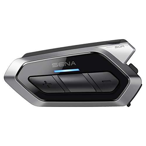 Sena 50R Flaches Motorrad Bluetooth Kommunikationssystem mit Mesh 2.0