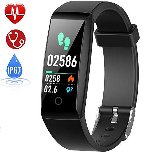 HETP Fitness Trackers with Blood Pressure & Heart Rate Monitor Smart Watches...
