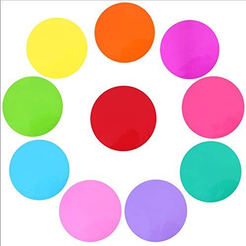30cm Diámetro Círculo Grande Mensaje Etiqueta Pared Color Múltiple Habitación Para Niños...
