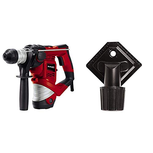 Einhell Bohrhammer TC-RH 900 (900 W, 3 J, Bohrleistung in Beton 26 mm, SDS-Plus-Aufnahme, Metall-Tiefenanschlag, Koffer, inkl. Bohrdüse)