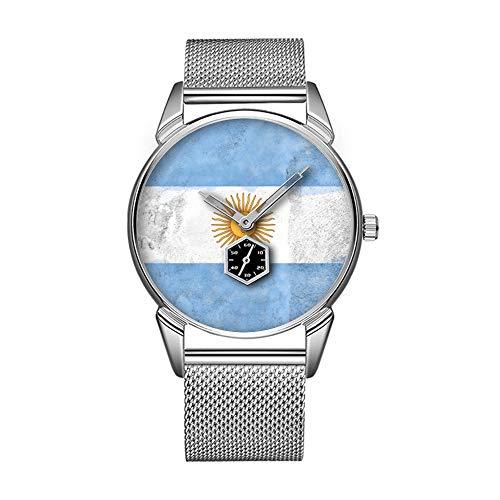 Mode wasserdicht Uhr minimalistischen Persönlichkeit Muster Uhr -044. Argentinien