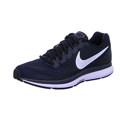 Nike Womens Air Zoom Pegasus 34 Black/White/Dark Grey/Anthracite Running Shoes (8)