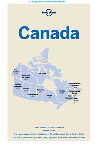 Canada 13 (inglés) (Country Regional Guides)
