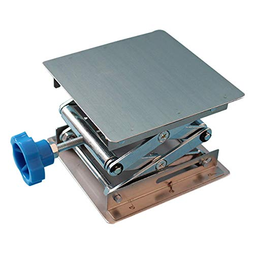 Stainless Steel Lab Jack Stand Table Lift Laboratory Jiffy Jack 4' x 4'