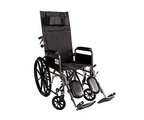 Healthline Recliner Folding Wheelchair