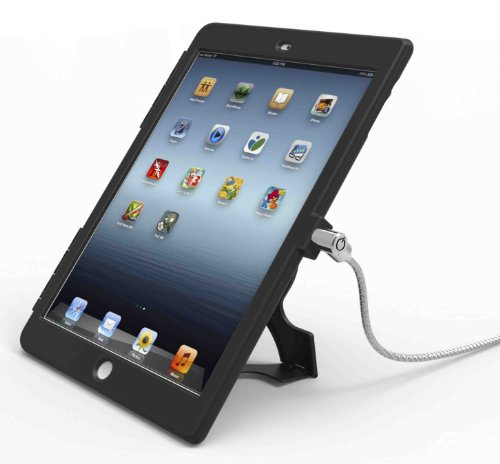 Maclocks Custodia di Sicurezza con Lucchetto per iPad Air, Nero