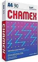 Chamex Papel A4, 210 x 297 mm, 90g, Pacote 500 Folhas, Branco Sulfite