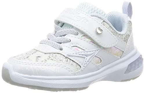 [[シュンソク]] スニーカー 運動靴 軽量 15~24.5cm D キッズ 女の子 LEJ 6170 6690 サックス 20 cm D