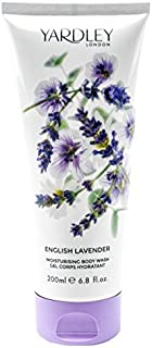 Yardley of London English Lavender Body Wash, 250 ml, Made in England