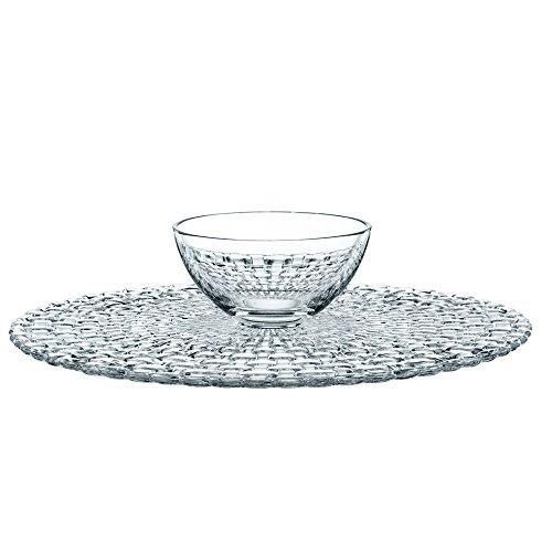Spiegelau & Nachtmann, Kuchenplatte/Chip and Dip, Rund, Kristallglas, Durchmesser: 32 cm, Bossa Nova, 0077809-0