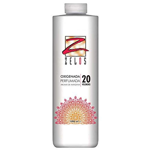 Oxigenada 20 volúmenes - 1000 ml - Aroma de Manzana - Emulsión Oxidante en Crema para Tinte y...