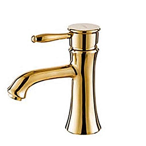 SPRINGHUA Cuenca del Grifo Grifo de Agua Ajustable de Temperatura for Baño Diseño de Uso Diario, Duradero