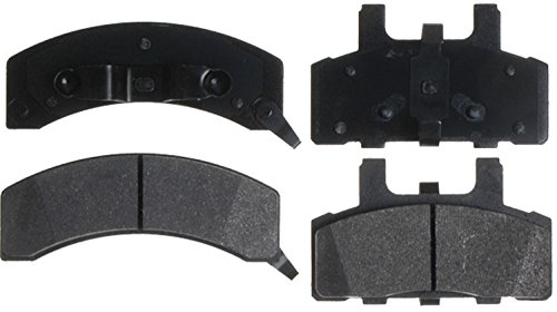ACDelco 14D369MX Advantage Severe Duty Organic Front Disc Brake Pad Set