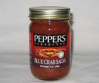Peppers Zesty Blue Crab Salsa 12 Oz