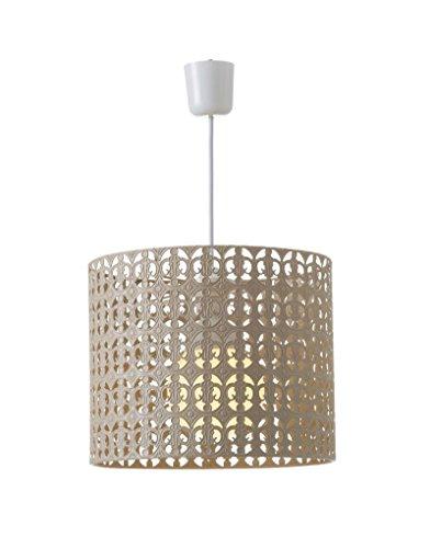 Hogar & Mas plafondlamp, metaal, beige, etnisch design