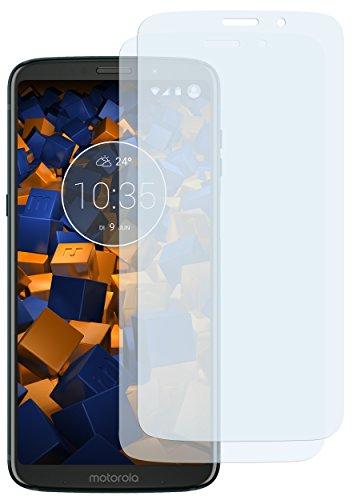 mumbi Schutzfolie kompatibel mit Motorola Moto Z3 Play Folie klar, Bildschirmschutzfolie (2X)