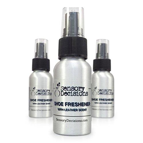 Sensory Decisions - Deodorante spray per scarpe e deodorante, con nuovo odore di scarpe