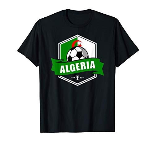 Algeria Trikot Shirt Fussball Fanartikel Geschenk 2020 2021 T-Shirt