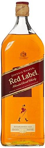 Johnnie Walker Red Label Blended Scotch Whisky (1 x 1.5 l)