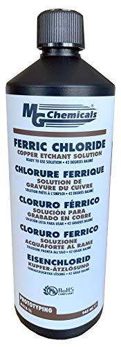 MG Chemicals 415 Eisenchlorid, Dunkelbraun 1L