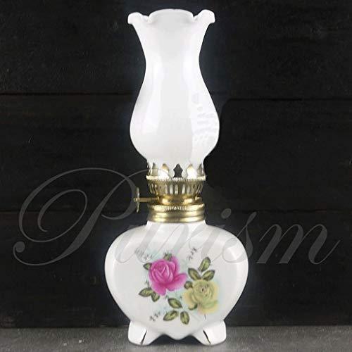 GCMJ Keramik Petroleumlampe, Dekoration Bar Dekoration Tischlampe Handgefertigte Handwerk Oellampe Sturmlampe