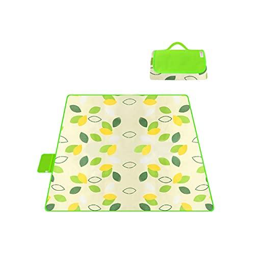 LICHUAN Manta de picnic para exteriores, impermeable, tela Oxford, manta de playa portátil, para acampar, accesorios de conciertos familiares (color D: D, tamaño: 190 x 200 cm)