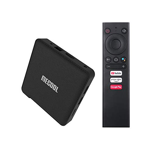 Mecool KM1 4 GB 32 GB Amlogic S905X3 Quad core Android 10.0 TV Box Google Certified 2.4G & 5.8GHz Dual WiFi BT4.2 Smart Android TV 4K H.265 lettore multimediale con tastiera I8