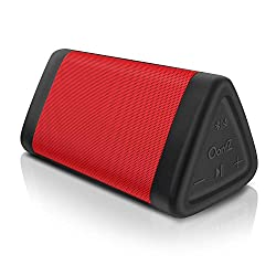 OontZ Angle 3 (3rd Gen) Portable Bluetooth Speaker, Louder Crystal Clear Stereo Sound, Rich bass, 100 Ft Wireless Speaker Range, IPX5, Bluetooth Speakers by Cambridge SoundWorks (Red)