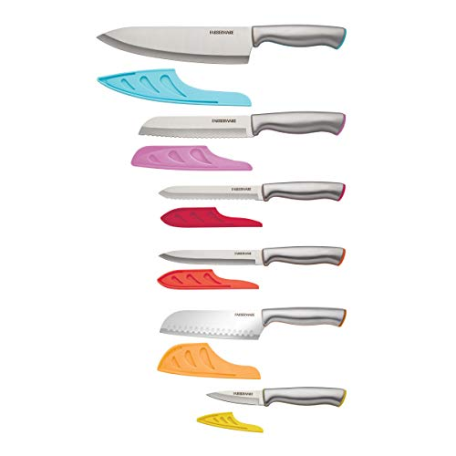Farberware Stamped Stainless Steel Cutlery Set, 12-piece, Assorted