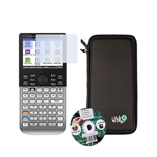 Streberpaket: HP Prime + Erweiterte Garantie + Lern-CD (auf Deutsch) + Schutztasche + Displayschutzfolie