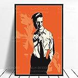 SGYY Poster und Drucke Fight Club Poster Pitt Film David