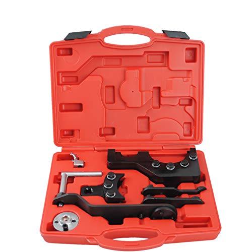 CCLIFE Motor Nockenwellen Einstellwerzeug Steuerkette Zahnriemen Arretierung Werkzeug Kompatibel mit VW T5 2,5 4,9D TDI