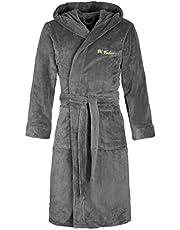 Di Vadini Unisex Heren Dames badjas/ochtendjas Florence met capuchon/maten XXS - 5XL / Öko-Tex Standard 100