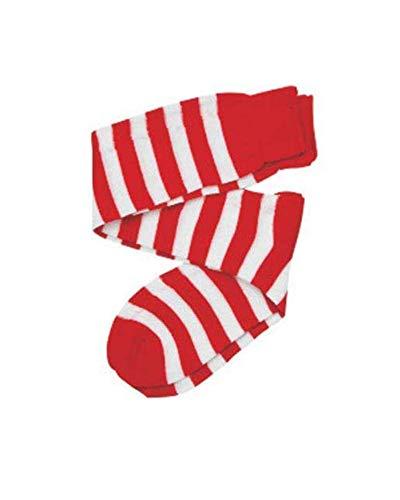 Dress Up America Calcetines Rojos / Blancos de los Cabritos Disfraces Disfraces Accesorios