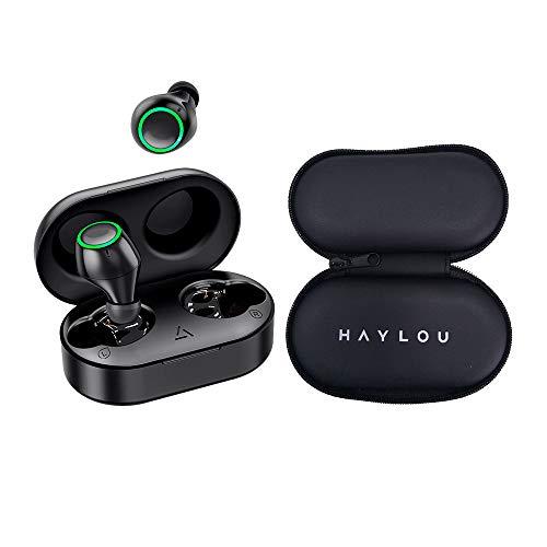 Fone Ouvido Bluetooth T6 Mpow Preto BH333A Preto e Estojo