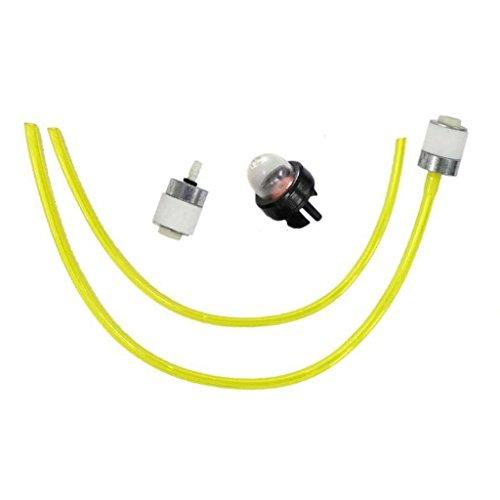 HURI Fuel Line Fuel Filter Primer Bulb for Ryobi 600r 704r 704rVP 705r 720r 725r 725rE 750r 765r 767r 770rEB 775r 780r 790r String Trimmer