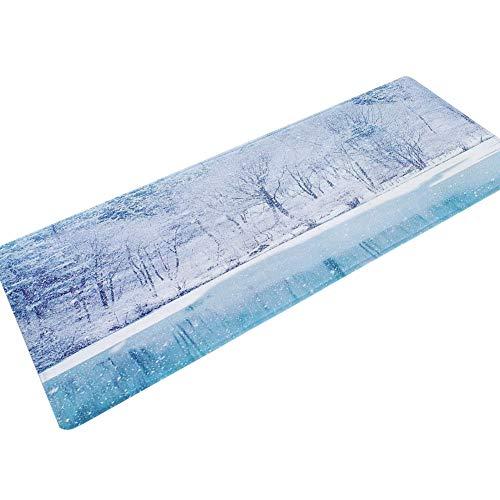 HLXX Alfombrillas Antideslizantes alfombras de baño alfombras de baño Cocina alfombras de Sala de Estar alfombras absorbentes Antideslizantes alfombras de Dormitorio A11 50x160cm