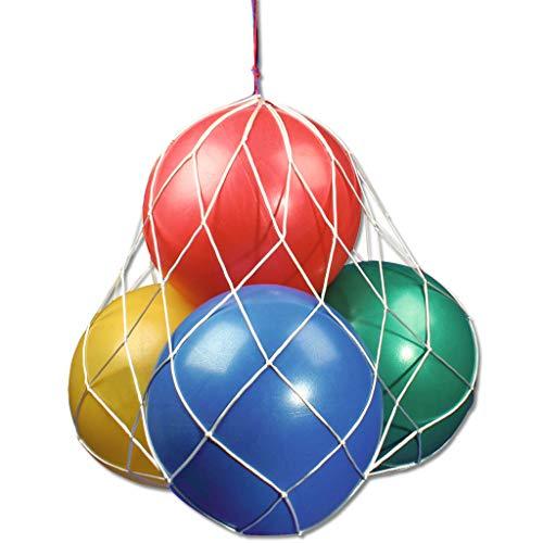 Wiemann Lehrmittel Zeitlupenbälle, 4er Set, Spiel-, Übungsball für Kinder, bunt