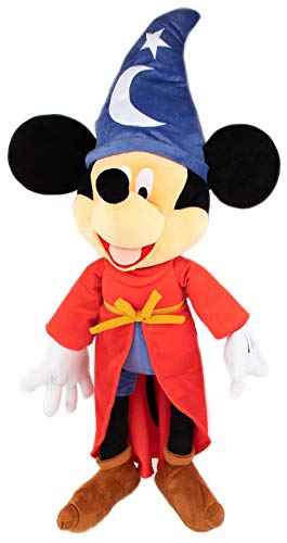 Jay Franco Disney Fantasia Mickey Mouse Plush Stuffed Pillow Buddy - Super Soft Polyester Microfiber, 32 inch (Official Disney Product)