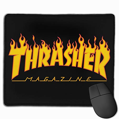 Thrasher Gaming Mouse Pad Office Mouse Pad Non-Slip Rubber Backing Novel Pattern