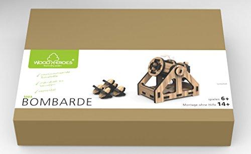Maquette en bois articulé - Bombarde - WoodHeroes