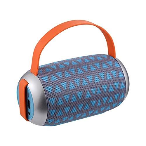 XFSE Tragbarer graues Dreieck Bluetooth Lautsprecher wasserdichtes drahtlosen Lautsprecher Surround-Sound-System Stereo-Musik im Freien Lautsprecher