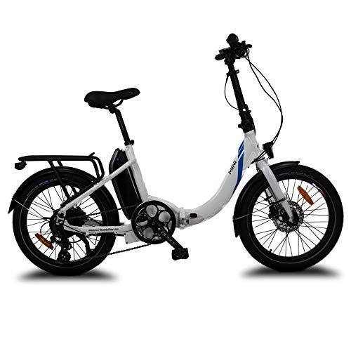 URBANBIKER Bicicleta eléctrica Plegable Mini, 36V y 14Ah (504Wh) con Cambio Shimano...