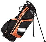 Amazon Basics - Bolsa de golf con caballete, color Naranja