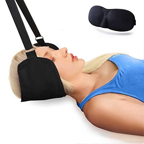 Nacken Hängematte, Hals hängematte Tragbares Hammock for Neck Original Zervixzuggerät zur Linderung von Nackenschmerzen und Physiotherapie Nacken Massagegerät