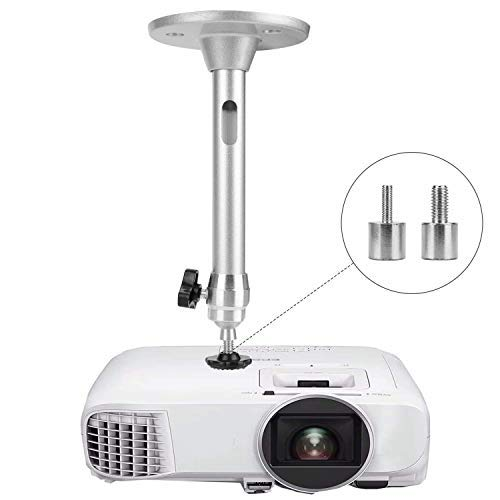 Mini Ceiling Wall Projector Mount Compatible with QKK, DR.J Upgrade, DBPOWER, Anker, AAXA Technologies, Artlii, LoongSon, APEMAN and Most Other Mini Projector (175mm)