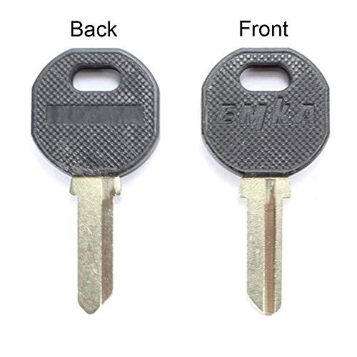 1108-U35-BLANK EMKA Black Grip Key