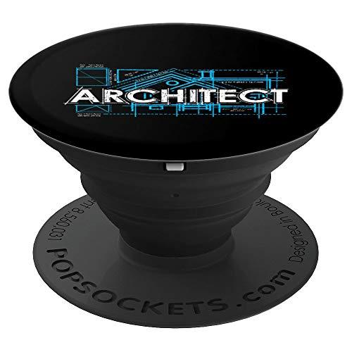 Orgulloso Arquitecto De Arquitectura Regalo PopSockets Agarre y Soporte para Teléfonos y Tabletas